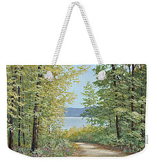 Summer Woods Weekender Tote Bag