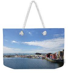 Summers End Capitola Beach Weekender Tote Bag by Amelia Racca