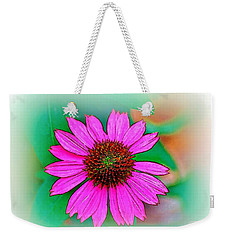 Weekender Tote Bag featuring the photograph Summertime 8 by Ludwig Keck