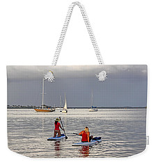 Weekender Tote Bag featuring the photograph Summertime Fun by HH Photography of Florida