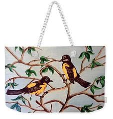 Summertime Weekender Tote Bag