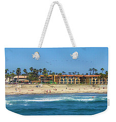 Weekender Tote Bag featuring the photograph Summertime by Tammy Espino