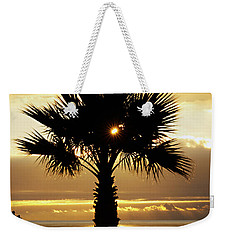 Sun And Palm And Sea Weekender Tote Bag by Joe Schofield