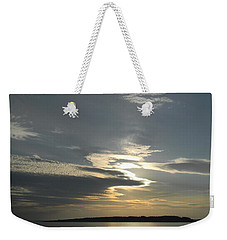 Weekender Tote Bag featuring the photograph Sun And Shadows by Jean Goodwin Brooks