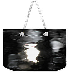 Weekender Tote Bag featuring the photograph Sun And Water  by Penny Meyers