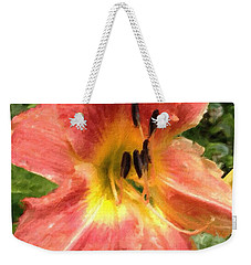 Sun Day Lilly  Weekender Tote Bag