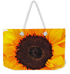Weekender Tote Bag featuring the photograph Sun Delight by Angela J Wright