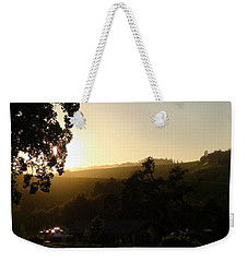 Weekender Tote Bag featuring the photograph Sun Down by Shawn Marlow