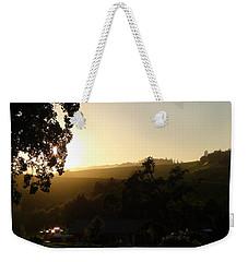 Sun Down Weekender Tote Bag