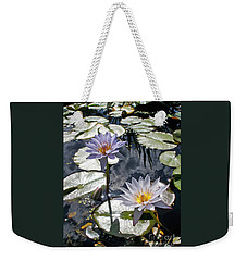 Sun-drenched Lily Pond         Weekender Tote Bag