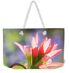 Sun Filled Paintbrush Weekender Tote Bag