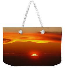 Sun Fire Weekender Tote Bag