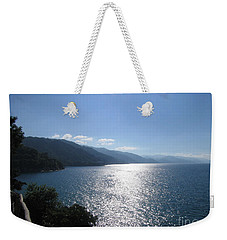 Sun Flare On The Bay Weekender Tote Bag