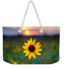 Sun Flower Iv Weekender Tote Bag