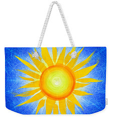 Sun Flower Weekender Tote Bag by Tim Gainey