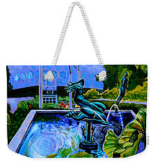 Sun Glitter Mermaid At Missouri Botanical Garden Weekender Tote Bag