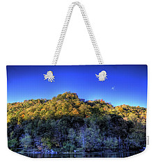 Sun On Autumn Trees Weekender Tote Bag by Jonny D
