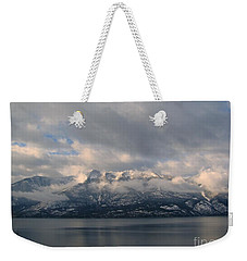 Sun On The Mountains Weekender Tote Bag