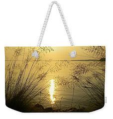 Sun Over Lake Murray Weekender Tote Bag