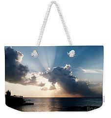 Sun Rays Weekender Tote Bag