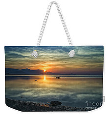 Sun Reflection Weekender Tote Bag