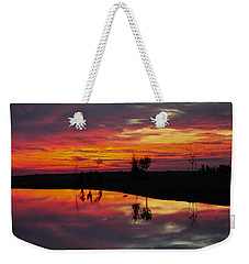 Sun Set At Cowen Creek Weekender Tote Bag