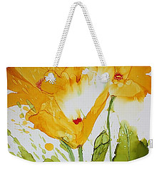 Sun Splashed Poppies Weekender Tote Bag