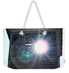 Sun Through The Steeple-by Cathy Anderson Weekender Tote Bag by Cathy Anderson