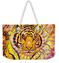Sun Tiger Weekender Tote Bag