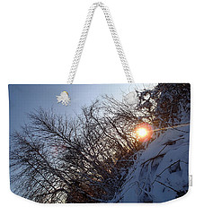 Weekender Tote Bag featuring the photograph Sunbeam by Robert Nickologianis