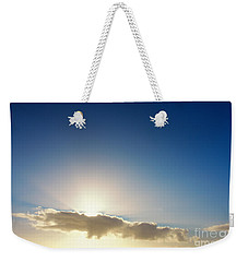 Sunbeams Behind Clouds Weekender Tote Bag