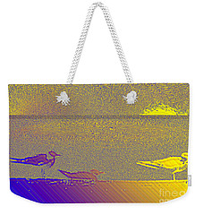 Weekender Tote Bag featuring the photograph Sunbird by Ecinja Art Works