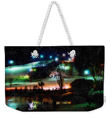 Sunburst In The Snow Weekender Tote Bag