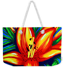Sunburst Weekender Tote Bag by Jackie Carpenter