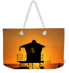 Weekender Tote Bag featuring the photograph Sunburst by Tammy Espino