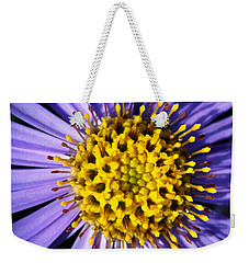 Weekender Tote Bag featuring the photograph Sunburst by Wendy Wilton