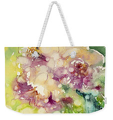 Sundappled Rose Weekender Tote Bag by Judith Levins