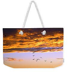 Gods Outdoor Church Sunday Weekender Tote Bag