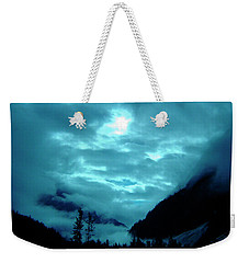 Weekender Tote Bag featuring the photograph Sunday Morning by Jeremy Rhoades