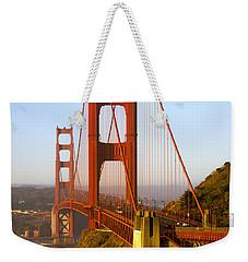 Sunday Morning Traffic Weekender Tote Bag