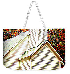 Weekender Tote Bag featuring the photograph Sunday School by Faith Williams