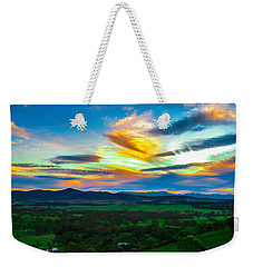 Sunday's Sunsets  Weekender Tote Bag by Naomi Burgess