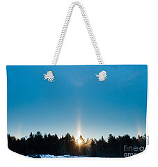 Sundog Spectacular Weekender Tote Bag by Cheryl Baxter