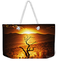 Sundown In The Mountains Weekender Tote Bag by Lydia Holly