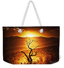 Sundown In The Mountains Weekender Tote Bag