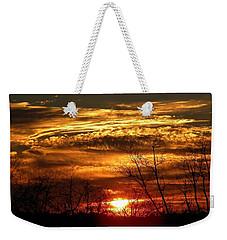 Sundown On The Farm Weekender Tote Bag