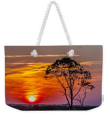 Sundown With Tree Weekender Tote Bag