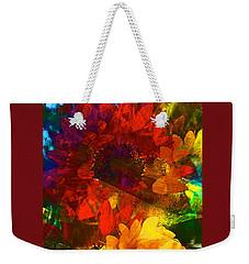 Sunflower 11 Weekender Tote Bag by Pamela Cooper