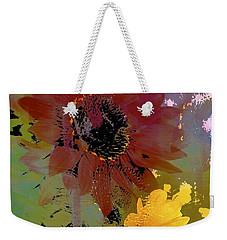 Sunflower 33 Weekender Tote Bag by Pamela Cooper