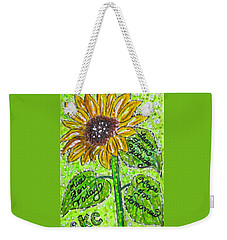 Sunflower Advice Weekender Tote Bag